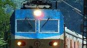 20191003_201540 兰局兰段HXD1D-0609牵引Z266次(拉萨-西宁-广州)通过宝鸡西关立交桥-拍客-高清完整正版视频在线观看-优酷