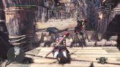 怪物猎人世界挑战01灭尽2pt太刀 3分1秒