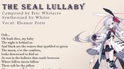 【Eleanor Forte 阿卡贝拉翻唱】【一人合唱团】The Seal Lullaby by Eric Whitacre