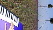 """20200123:用吉他、笛子、小提琴、圆号和""""水晶""""音色以山东菏泽单县某地为背景演奏《西游记序曲》(《云宫迅音》)"""