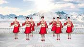 流行时尚现代舞《飘雪的季节更想你》32步抒情柔美,附分解教学-健身广场舞大妈变女神,老公丢了魂-春风广场舞
