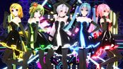 【MMD】Popstars-Miku/Haku/Rin/Gumi/Luka