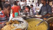 印度街头蔬菜快餐,只需25卢比