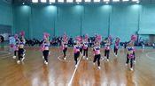 河南省大学生篮球赛(周口师范学院赛区)开幕式表演——啦啦操