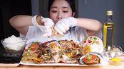 【吃播】韩国小姐姐Fume带你体验美食