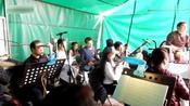 河南省曲剧院乐队:(下乡演出)现场伴奏,个人技术一流