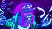 【英雄联盟KDA】轰炸耳朵!!超燃女声金属摇滚版KDA - POPSTARS - (METAL COVER)