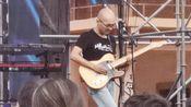 丛林之竹吉他手水哥吉他solo.。常州太湖湾音乐节。