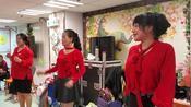 喻米英  香港護老院義演藝人 同七星女在護老院義演 並派發禮物