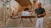 Youtube搬运 约瑟夫·祖布科维奇 水彩过程 My day with Joseph Zbukvic in Girona