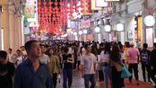 广东广州:实拍荔湾区上下九步行街,晚上这里简直人山人海!