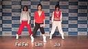[舞蹈教学]miss a成员与wg惠林练习生时期《boom boom pow》