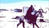 【骑射】满族骑射手嘎力巴图着传统服饰De冬季赛集锦