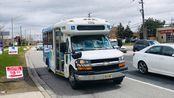 「七拐八弯的商场连接线」LC的POV73 约克区公车 YRT 589路 列治文山社区巴士 Hillcrest Mall到孟尝阁 全程延时