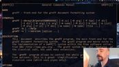 groff/troff: MUH MINIMALIST Documents