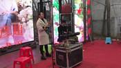 湖北省襄阳市民间结婚,美女唢呐吹奏一首《好汉歌》,非常的好