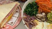 VLOG-07 | 逛超市 | 三明治 | 韩式拌饭 | 煮栗子 | 做饭 | 制作过程 | 生活记录 [魔力少女i]