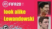 【YIBUXITV】FIFA20_捏脸教程_莱万多夫斯基_Proclub_Face_Lookalike_Robert Lewandowski