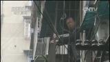 [中国新闻]四川内江:居民区挡土墙垮塌 8人被困