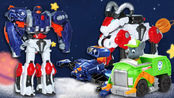 玩具房子 第125集 核晶少年无限勇士合体
