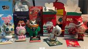 拆拆拆!dimoo圣诞&tokidoki圣诞&太空奇遇&罗小黑游乐园系列盲盒