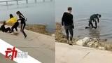 辽宁多名男女殴打一女生并拖入河中呛水,警方介入已控制打人者