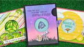 【卡片】lawn fawn快门机关刀模制作卡片教程|手帐小机关| Intro to Magic Iris
