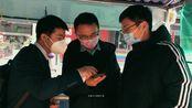 招商银行工作人员在新冠肺炎期间的业务办理现场情况