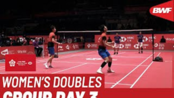 杜玥/李茵晖 vs 波莉/拉哈尤 - 2019世界羽毛球(广州)总决赛