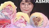 【aejeong】自制棉花糖冰激凌煎饼吃起来听起来像木桶和烹饪ae jeong(2019年8月9日10时56分)