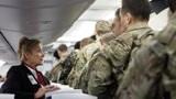 美国紧急动员,空姐不下班:大批民航客机满载美军扑向中东