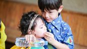 """【爸爸三】【刘诺一】【刘霓娜】【刘烨】被霓娜的逻辑和眼神打败的""""傻白甜""""父子刘烨刘诺一"""