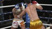 中国战将远征海外扬威,26秒暴击KO对手!看呆台下的观众!