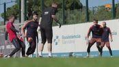 安德烈·戈麦斯和西莱森回归训练