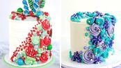 10+彩色巧克力蛋糕食谱|惊人的奶油蛋糕装饰教程|极限蛋糕【Extreme Cake】 - 20200119