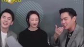 张若昀直播唱狼外婆版《丢手绢》,李佳琦李纯满脸无奈