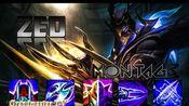 Zed 蒙太奇 - Zed Pentakill 1v5 Best Zed 200 IQ Plays - League of Legends