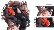 y2mate.com - japanese_samurai_mask_illustration_speed_art_soar_revs_no8Rggs4iWA_