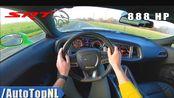 第一视角 888马力 DODGE(道奇)HELLCAT(挑战者) XR - 6.2 V8 机械增压 - 测试 试驾 by AutoTopNL