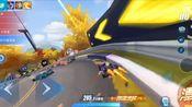 欢乐(自闭)紫电车队赛 《QQ飞车手游》