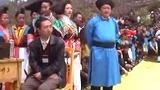 长顺县87岁竹王后裔金帮明在第一届竹王节开幕式上发言