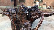焦作民间根雕大师,用百年朽木雕刻成的作品,你看值多少钱?