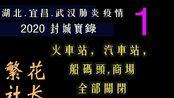 湖北宜昌2020武汉肺炎封城实录1_今天开始封城了,车站码头火车站