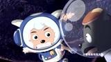 喜羊羊与灰太狼: 灰太狼没有飞船驾驶证,被太空警察追赶