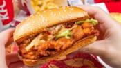【吃播剪说话】 肯德基德克士麦当劳滴汉堡鸡肉卷合辑~