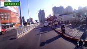 北京朝阳北路 青年路地铁往东街景