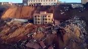 尚有17人失联!现场:山西乡宁山体滑坡致楼房坍塌 已确定2人遇难