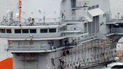 26日演出舞台已搭好 075首舰刷漆完毕 赶在10月前下水