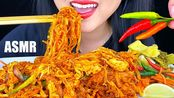 【phan】助眠辣面+辣椒(Pad Thai)咕噜咕噜地吃着声音*不说话*助眠Phan(2020年3月5日21时48分)