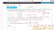 AS Mechanics Chapter6.4 Velocity as integral of acceleration wrt time